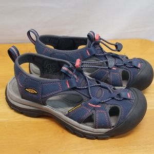 Keen Waterproof Blue and Gray Hiking Sandals